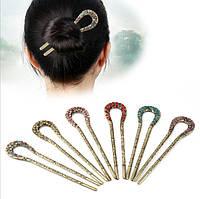 Заколка шпильки для волос(цвета в ассортименте), фото 1