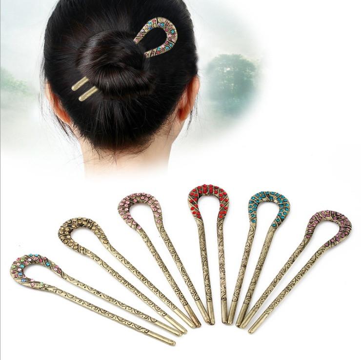 Заколка шпильки для волос(цвета в ассортименте)