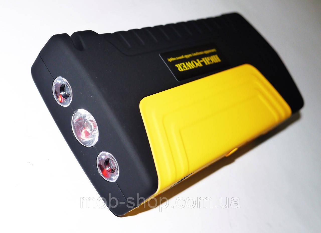 Повер банк Power Bank Car Starter 16800 mAh зарядно-пусковое устройство для машины