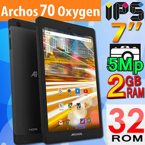 ОРИГИНАЛ! планшет ARCHOS 70 OXYGEN  IPS 2GB/32GB  + ПОДАРКИ, фото 2