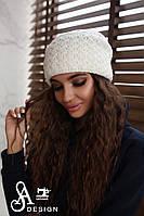 Женская шикарная шапка (4 цвета), фото 1