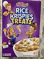 Сухой завтрак рисовые пафсы Rice Krispies