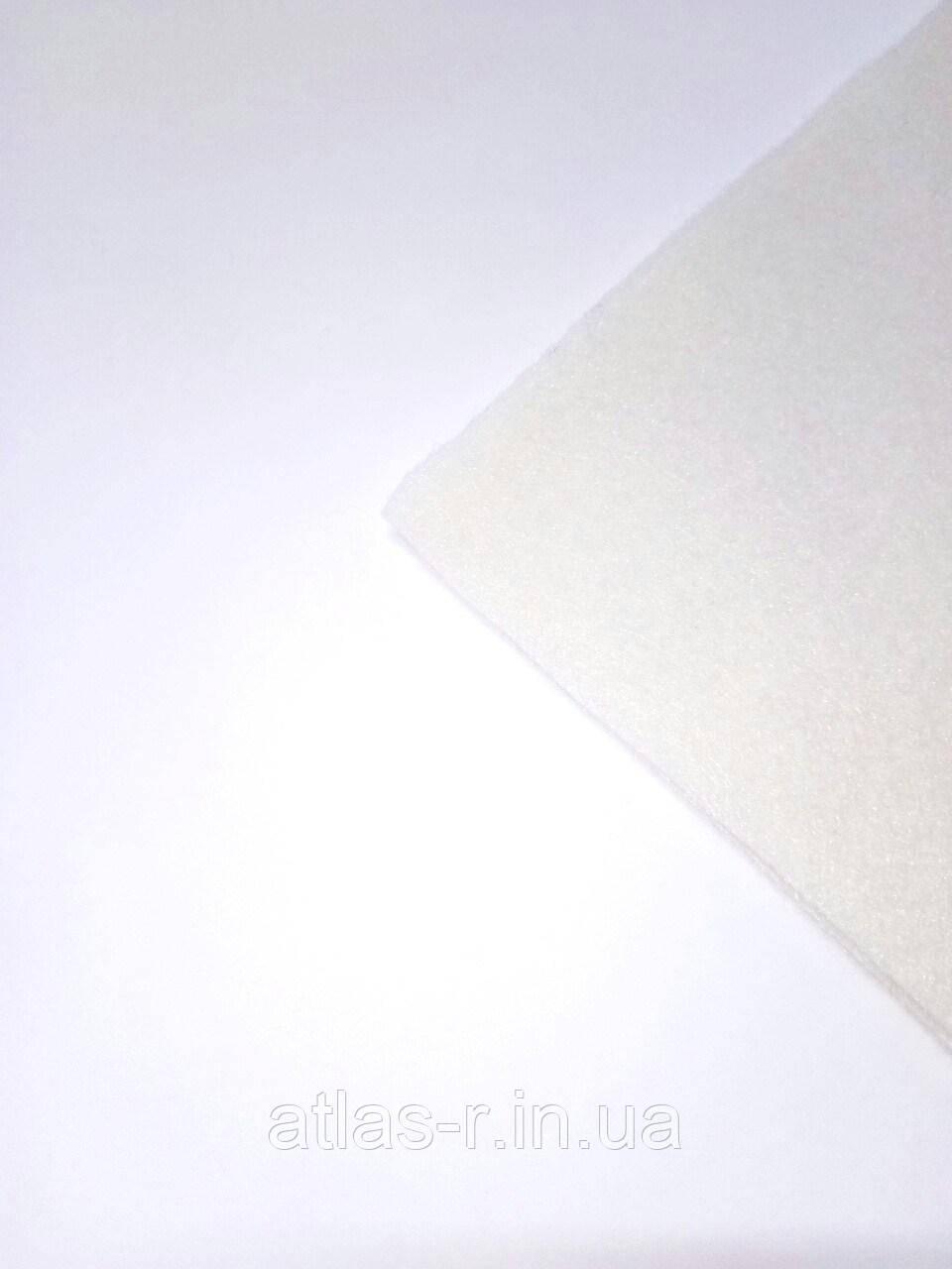 Мягкий фетр для рукоделия айвори листовой 1,3 мм