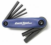 Набор складных шестигранников и отверток Park Tool 4mm, 5mm, 6mm