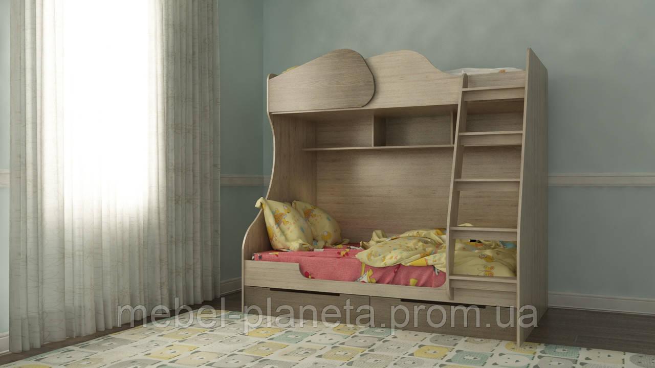 """Ліжко двоярусне """"Балу"""" Ліон"""