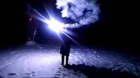 Фаєр, кольоровий вогонь, факел, фальшфейер, синій, 100 сек., Hand FLARE