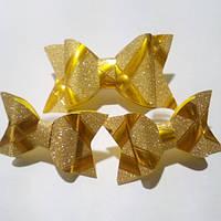 Набор бантиков для волос,золото