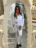 РАСПРОДАЖА!!! Модный костюмчик из французского трикотажа. Ткань - французский трикотаж. р.С-М. код 8027Z, фото 2
