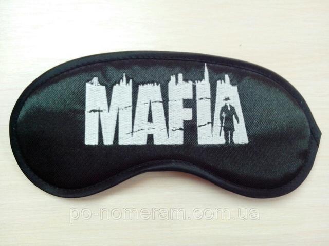 Маски для мафии индивидуальные с вышивкой под заказ в Днепре