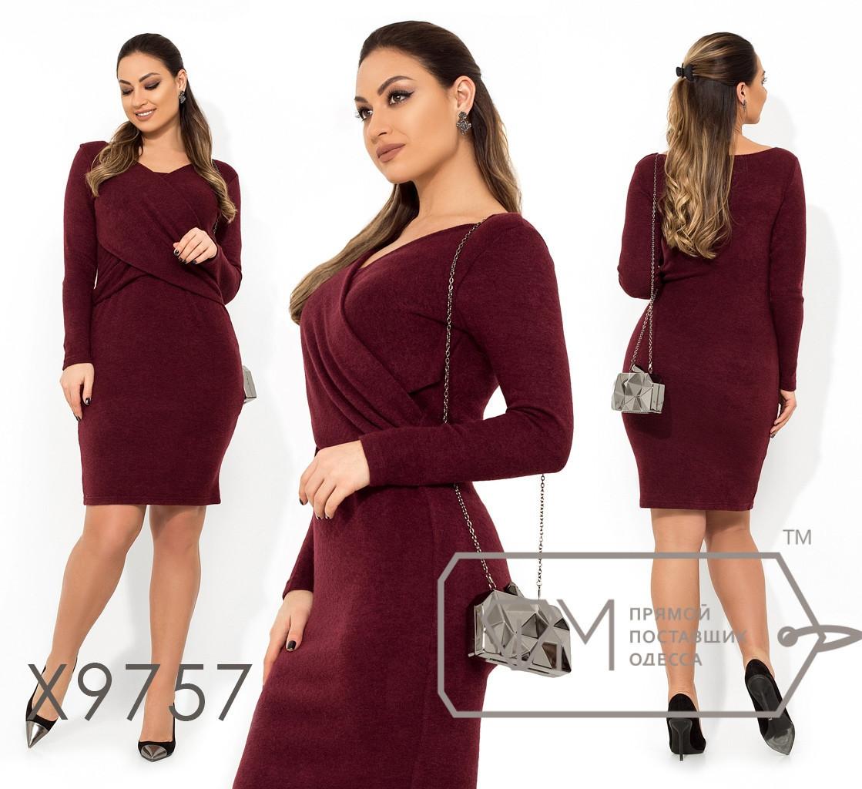 Платье из ангоры в большиfmx размераfmx на запаfmx fmx9757