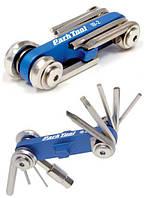 Набор инструментов Park Tool I-Beam (шестигран.+ отвертк.+ борт. лопатка + выж. цепи 10 ск.)