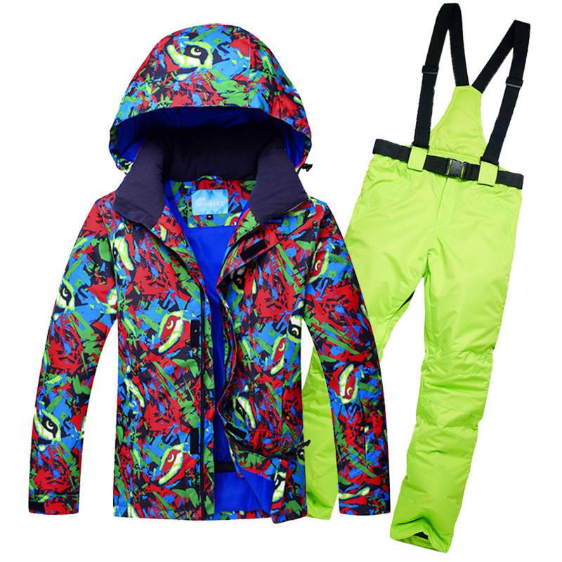 """Лыжный костюм """"Гольфстрим #2"""" - 6 вариантов"""