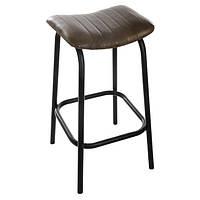 Коричневый кожаный стул, стул, кухонный стул, барный стул, кожаные кресла, кухонные хокер, кожаные                     хокеры