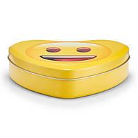 Контейнер для хранения, практичный пищевой контейнер в форме сердца, металический, Zeller                     (28948)