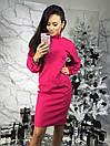 Платье приталенное с рукавом-фонариком 34py2296, фото 2