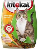 Kitekat сухой корм аппетитная курочкка для взрослых кошек 13КГ