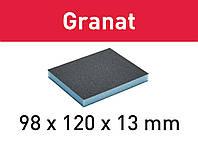 Губка шлифовальная 98 мм x 120 мм x 13 мм Р120 GR/6 Festool 201113, фото 1