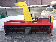 Снегоуборщик для мототрактора - шнековый роторный, фото 1