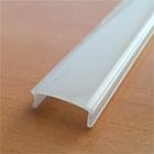 ПФ-15 Профиль накладной полуматовый 1М комплект:2 заглушки с отверстием+4 крепеж пластик 1016230, фото 3