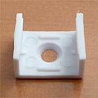 ПФ-15 Профиль накладной полуматовый 1М комплект:2 заглушки с отверстием+4 крепеж пластик 1016230, фото 4