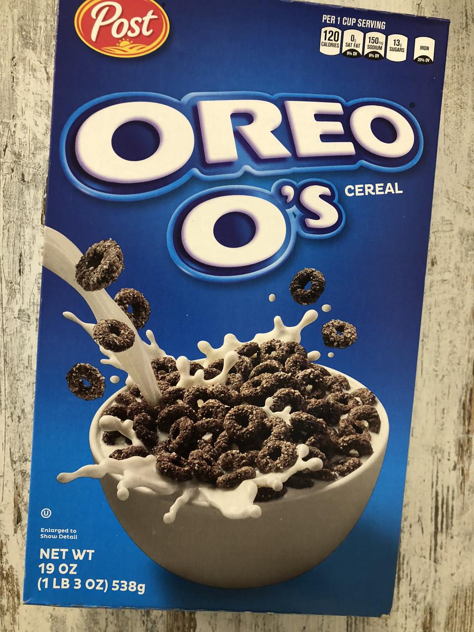 Сухой завтрак хрустящие колечки Oreo O's Cereal