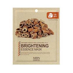 Тканевая Маска Очищение Осветление Mijin Essence Mask Brightening