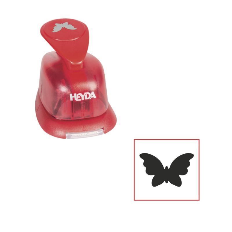 Фигурный дырокол Бабочка 1.6см Heyda