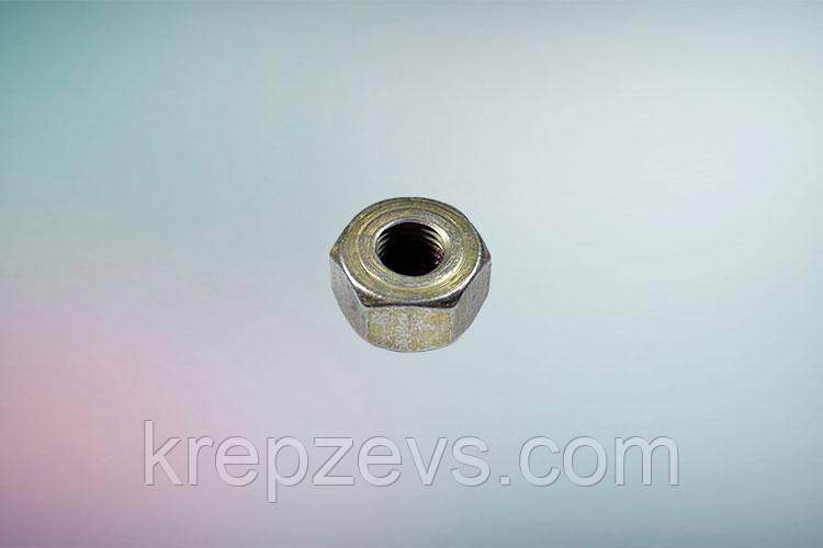 Гайка М4 DIN 980V оцинкованная