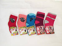 """Носочки махровые для девочек  """"ВиАтекс"""" размер 12(20-22), фото 1"""