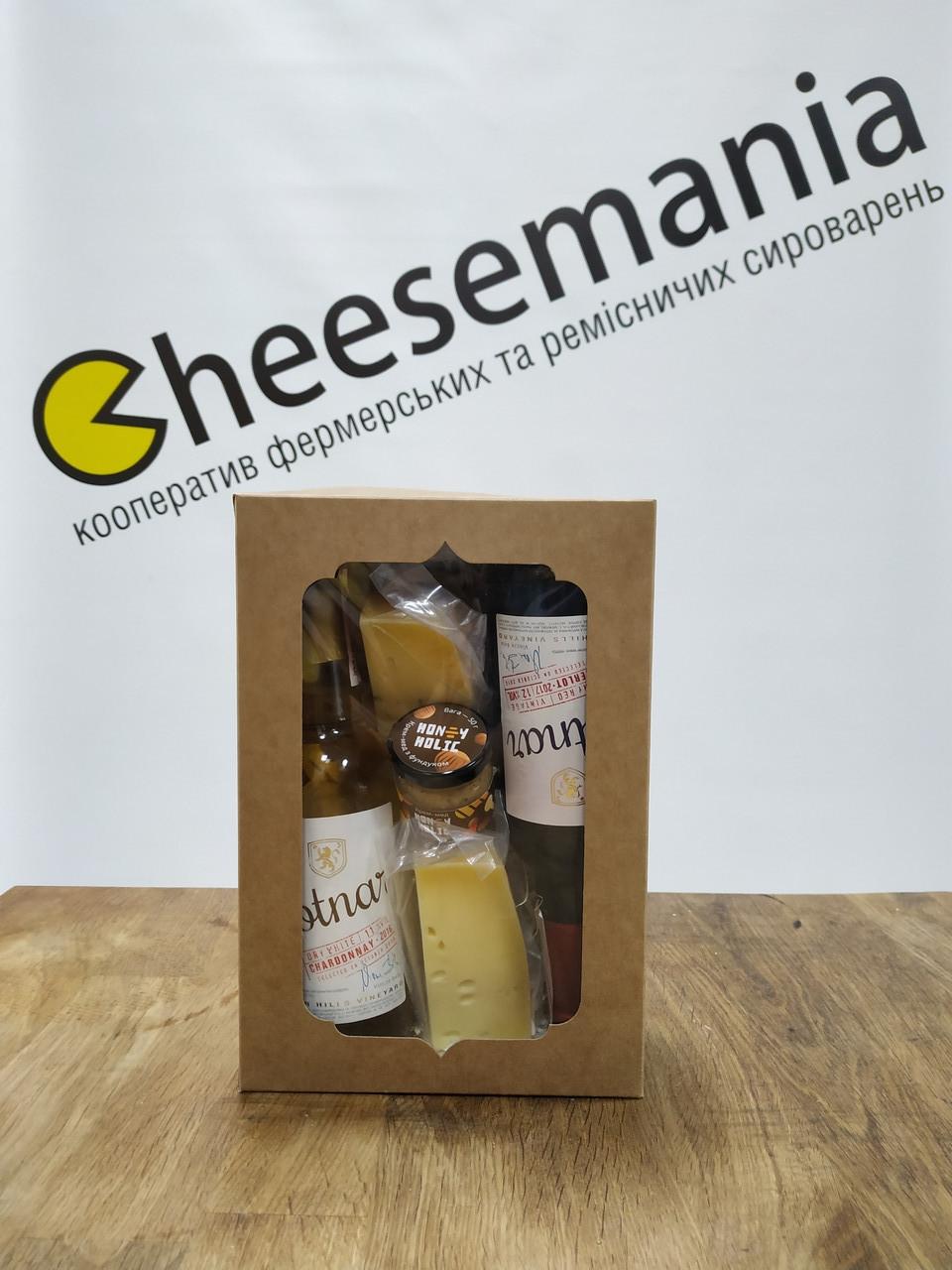 Сирно-винний набір подарунковий Cheesemania