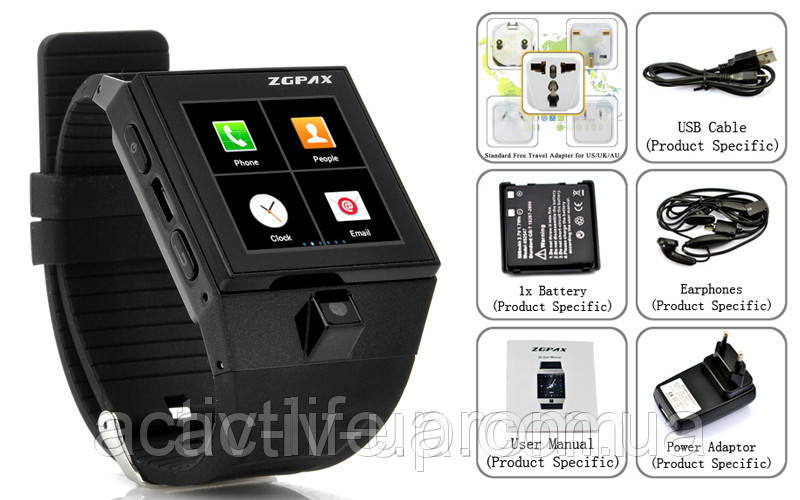 ... фото · Часофон ZGPAX S5 Android 4.0 (сенсорный экран 29b43ffe61f48