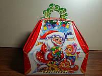 """Новогодняя коробка """"Саквояж"""" на конфеты"""
