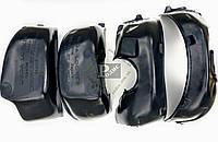 Подкрылки CHEVROLET Aveo III (Т250) 2005, ЗАЗ VIDA (комплект 4 шт.) защита колесных арок