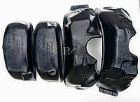 Подкрылки Lanos Sens (комплект 4 шт.) защита колесных арок Ланос, ЗАЗ Сенс