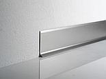 Плинтус алюминиевый 40 мм, фото 3