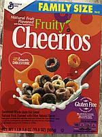 Сухой завтрак овсяные колечки с фруктовыми вкусами Fruity Cheerios, фото 1