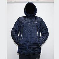 Зимние мужские куртки на синтепоне и флисе фабричный пошив пр-во Украина  K1703, фото 1