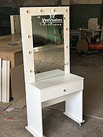 Туалетный столик на колесах. Модель V304 белый, фото 1