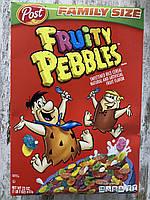 Сухой завтрак маленькие цветные хлопья Fruity Pebbles