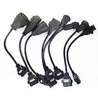 Комплект 8 кабелей переходников для грузовиков OBD2 диагностических для TCS CDP VCI мультидиаг