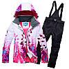 """Лыжный костюм """"Листья"""" - 8 вариантов, фото 5"""