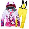 """Лыжный костюм """"Листья"""" - 8 вариантов, фото 9"""