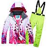 """Лыжный костюм """"Листья"""" - 8 вариантов, фото 10"""