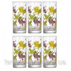 Набор стаканов 270 мл 6 шт Crazy Flower Luminarc 0753