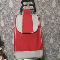 Тележка с сумкой на металлических колёсах грузоподъемностью  до 50 кг., фото 1