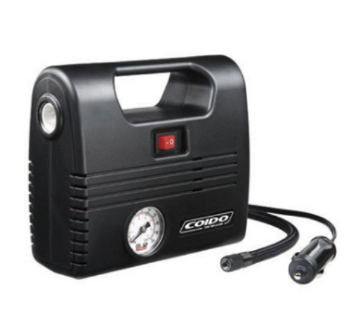 Компрессор COIDO 2702 (300psi) манометр/фонарь(7855)