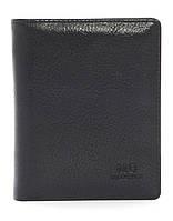 Удобный мужской кошелекиз натуральной качественной кожиMD collection art. NB-8803 черный, фото 1