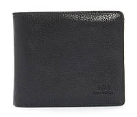 Удобный мужской кошелек из натуральной качественной кожи MD collection art. NB-8804 черный, фото 1