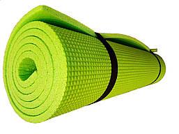 Коврик для фитнеса и йоги 1800х600х5 однослойный