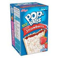 Печенье Frosted Strawberry Pop-Tarts, 416 г